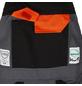 SAFETY AND MORE Schnittschutz-Latzhose EVO Polyester/Baumwolle anthrazit Gr. XL-Thumbnail