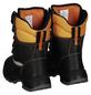 SAFETY AND MORE Schnittschutz-Stiefel, schwarz/orange, Leder/Polyester-Thumbnail