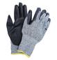 MR. GARDENER Schnittschutzhandschuhe, Größe: 10, grau/schwarz, Nitrilbeschichtet-Thumbnail
