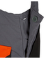 SAFETY AND MORE Schnittschutzlatzhose »EVO«, Anthrazit, Verstellbare Träger-Thumbnail