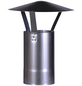 FIREFIX® Schornstein-Regenhaube, Ø: 12 cm, Stärke: 0,6 mm, Stahl-Thumbnail