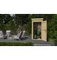 WEKA Schrank »Das kleine Gartenhaus«, BxT: 109.6 x 106.2 cm, Pultdach-Thumbnail