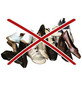 WENKO Schuhhalter »Ballerinas«, BxHxL: 9 x 9,5 x 26,5 cm, Kunststoff-Thumbnail