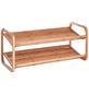 ZELLER Schuhregal Bambus 74 x 33 x 33 cm-Thumbnail