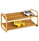 ZELLER Schuhregal, Holz, natur, 2 Fachböden-Thumbnail