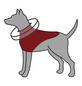 TRIXIE Schutzkragen, für Hunde, dunkelblau-Thumbnail