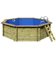 Schwimmbecken , BxLxH: 428 x 428 x 124 cm-Thumbnail