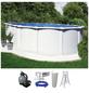 Schwimmbecken »OFB SdL«,  oval, BxLxH: 370 x 730 x 1301300 cm-Thumbnail