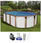 Schwimmbecken »OFB SdL «, oval, BxLxH: 470 x 920 x 130 cm-Thumbnail