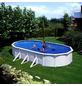 Schwimmbecken »Steely de Luxe heat «,  oval, B x L x H: 80 x 145 x 120 cm-Thumbnail