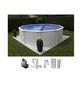 Schwimmbecken »Steely de Luxe heat «, rund-Thumbnail