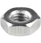 CONNEX Sechskantmuttern, M2,5, Silber, Stahl-Thumbnail