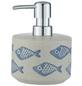 WENKO Seifenablage »Aquamarin«, Keramik, beige-Thumbnail