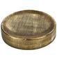 WENKO Seifenablage »Rivara«, Keramik, goldfarben-Thumbnail