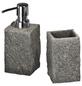 WENKO Seifenspender »Granit«, Polyresin, grau-Thumbnail
