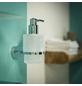 TIGER Seifenspender »LUCCA«, Zamak/Glas, weiß/chromfarben-Thumbnail