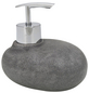 WENKO Seifenspender »Pebble Stone«, Höhe: 10,4 cm, grau-Thumbnail