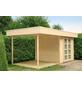 WOLFF Seitendach für Gartenhäuser, Fichtenholz-Thumbnail