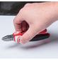 CONNEX Seitenschneider, rot/schwarz/silberfarben-Thumbnail