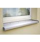 SAREI Seitenteil Fensterblech, 58 x 195 x 15 mm, Weiß, PVC-Thumbnail