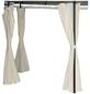 BELLAVISTA Seitenteile, Breite: 184 cm, Polyester, beige-Thumbnail