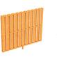 Seitenwand, B x H: 78,5  x 160  cm, Douglasienholz, Farbe: natur-Thumbnail