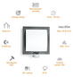 STEINEL Sensor-Außenleuchte »L 20 S«, 60 W, inkl. Bewegungsmelder-Thumbnail
