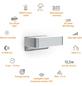 STEINEL Sensor-Außenleuchte »L 810 LED iHF«, 12,5 W, inkl. Bewegungsmelder, IP44, warmweiß-Thumbnail