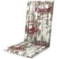 DOPPLER Sesselauflage »Living«, rot/weiss/braun, BxL: 48 x 119 cm-Thumbnail