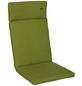 ANGERER FREIZEITMÖBEL Sesselauflage »Smart«, Uni, grün, 47 cm x 112 cm-Thumbnail
