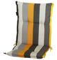 MADISON Sesselauflage »Victoria«, Niederlehner, gelb, Streifen, BxL: 105 x 50 cm-Thumbnail