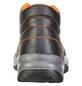 SAFETY AND MORE Sicherheitsstiefel, S3, Leder, 42, Schwarz | Orange-Thumbnail