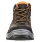 SAFETY AND MORE Sicherheitsstiefel, S3, Leder, 43, Schwarz | Orange-Thumbnail