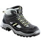 SAFETY AND MORE Sicherheitsstiefel »Top«, grau, Leder/Polyester-Thumbnail