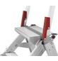 HAILO Sicherheitstreppe »ST 100«, Anzahl Sprossen: 3, Aluminium-Thumbnail