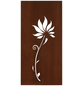 FLORAWORLD Sichtschutz »Lilie«, Stahl, HxL: 98 x 90 cm-Thumbnail