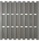 Sichtschutzzaun, WPC/Aluminium, HxL: 180 x 180 cm-Thumbnail