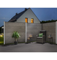 Sichtschutzzaun, WPC, HxL: 90 x 179 cm-Thumbnail