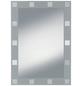 KRISTALLFORM Siebdruckspiegel »Domino«, Rechteckig-Thumbnail