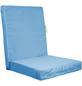 OUTBAG Sitzauflage »HighRise Plus«, Uni, aquablau, 50 cm x 105 cm-Thumbnail