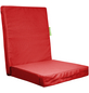 OUTBAG Sitzauflage »HighRise Plus«, Uni, rot, 50 cm x 105 cm-Thumbnail
