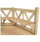 WOLFF Sitzbank, Holz, beige-Thumbnail