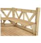 WOLFF Sitzbank »Kreta 8«, Holz, beige-Thumbnail