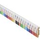 FN NEUHOFER HOLZ Sockelleiste, weiß/bunt, MDF, LxHxT: 240 x 8 x 1,5 cm-Thumbnail