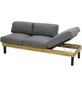 Sofa, BxHxT: 195 x 68 x 75 cm, Teakholz-Thumbnail