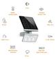 STEINEL Solar-Außenleuchte »XSolar L-S«, silberfarben-Thumbnail