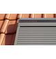 VELUX Solar-Rollladen »SSL CK06 0000S«, dunkelgrau, für VELUX Dachfenster, inkl. Funk-Wandschalter-Thumbnail