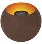 CASAYA Solarleuchte, mit Erdspieß, rostfarben-Thumbnail
