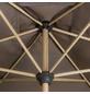 DOPPLER Sonnenschirm »Alu Wood«, BxHxL: 300 x 200 x cm, abknickbar, Sonnenschutzfaktor: 50+-Thumbnail