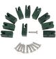 FLORAWORLD Spanndrahthalter, HxBxT: 10 x 2 x 8 cm, grün, für Zaunstabilität-Thumbnail